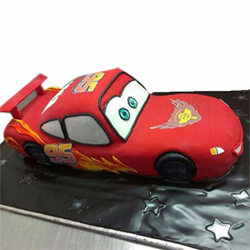 Lightning McQueen Fondant Cake 4kg 