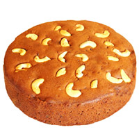 Round Plum Cake - 500 gms
