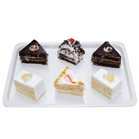 Mixed Pastries- 6 Pcs Delicious yummy moist creams are encompassed in 6 fresh Mixed Pastries.