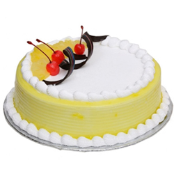 The pairing of appetizing flavors of Pineapple and whipped cream will surely make you land in heaven, Cakes to Delhi