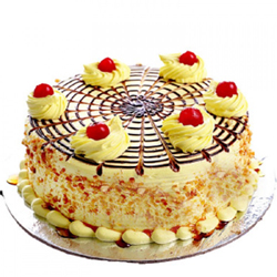 A very delicious 1/2kg butter scotch cake, 