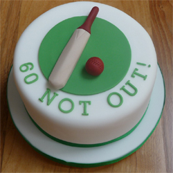 2kg pineapple Flavor Cricket Bat and Ball Cake, Cakes to Delhi