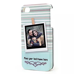 this cover displays your favourite photograph with your loved one along with your personal message.