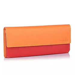 This cute orange and red wallet will complement your party attire and help you hold your essentials in an organized manner  2 to 3 working days