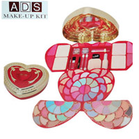 ADS Make up Kit your wishes to your dear one by gifting this beautiful makeup kit on very special day.  NOTE: LEAD TIME FOR SHIPPING: 2 to 3 WORKING DAYS