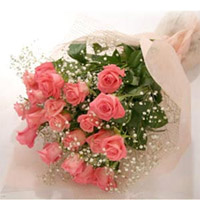 The Perfectly Pink Rose Bouquet is a symbolic expression of gratitude, grace and appreciation. 30 Stems of our finest
