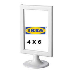 Ikea Tolsby Double sided photo frame, white