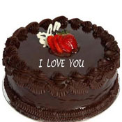 1kg Chocolate Round Shape - Chocolate flavour - Butter Cream - Non Pastry