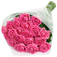 Bouquet of 36 dozen medium stemmed pink roses, Flowers to Chennai