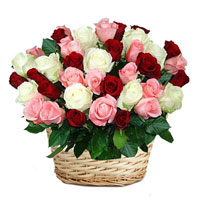 Mix Roses and leave your special someone feeling like a superstar. Bunch of 50 Mixed Roses, Flowers to Bangalore