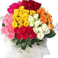 beautiful 100 mix roses bouquet 