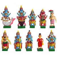 Dashavatar - Kondapalli Dolls - Wood items, 4 x 3 x 1 inches Each - Weight - 100 gms, lead time 2 working days.
