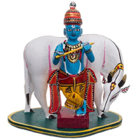 Gopalakrishna - Kondapalli Dolls - Aprox 6-8 inch height, lead time 2 working days.