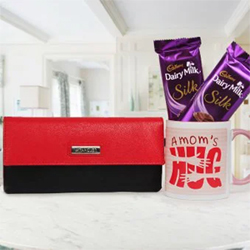 Gift her this 'Affectionate Gesture' that contains: A Digitally printed ceramic coffee mug showing