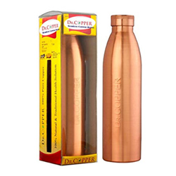 It's your mom's birthday, mother's day or any other day; make her feel special with a copper bottle that has a motivating quote written on it