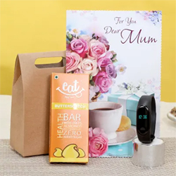 fitness tracker &greeting card