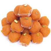 Send 1 kg Motichur Laddoo to your dear ones in India to make their occasion tasty one