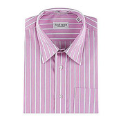 The shirts are of one of the best qualities with excellent fabric. The shirts are available in unique stripes and colours that can be worn by men of all ages. <br> Available in sizes 38, 40, 42, 44.Please mention on order form. premium brands