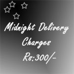 Delivery Charges, pls select this charge for products selected other than midnight products.