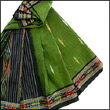 Pochampally is the well known brand in south india.This saree is 100% cotton.