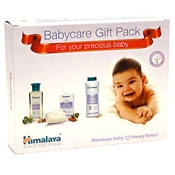 Send this Babycare Gift Pack to India and let your near and dear ones enjoy all the excitement with utmost care. <br> Net contents :  <br> Nourishing Baby Oil :  100 ml Moisturizing Baby Soap : 75g x 2 nos. Baby Powder : 100g <br>The Himalaya baby products will take good care of the delicate skin of the little toddler. Send this caring hamper for infant to India.
