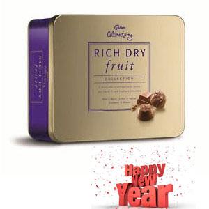 Cadbury Milk Chocolate Rich Dry Fruit Collection Weight 175gr