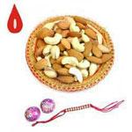 400gm Mix Dry Fruits, Rakhi With Roli Chawal,