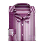 Branded Shirts John Players-Mens Full Sleeves Regular Fit Formal Stripes Shirt Louis Philippe symbolizes elegance, class and status for the man who has truly arrived. His Wardrobe is appropriate for all ocassions- be it for the boardroom or for an awards night, a golf session or for a business prospect at the yacht party. It is a melange of perfection, comfort and elegance. Wherever you are, whatever you do, you embody the perfection you so admire. *Product Details *100% Cotton  *Semi Cutaway Collar  *Regular Cuffs  *Regular Fit  *Full Sleeves  *Stripes Pattern  Please place the shirt size on the order form. The available sizes are 40,42,44. <br> Delivery lead time 3 working days