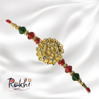 On this Raksha Bandhan, wish your Brother with this special OM Rakhi.