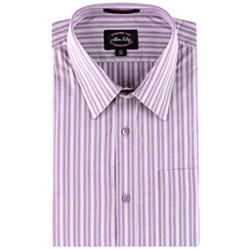 The striped semi-formal shirt is to lighten up the workplace environment also has become favorite of young people