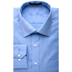 Delight your dear man in India by sending this formal shirt. This shirt comes from the leading brand Louis Philippe. Please Note :- Available in sizes 40, 42, 44. Please mention appropriate size, otherwise standard size shirt of 40 will be delivered. Colour of the shirt may vary according to the size and availability