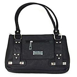 Black Sleek Handbag for Women