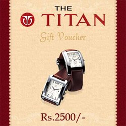 With this gift voucher, you dear ones will be able to buy gifts of his or her choice. With this gift