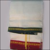 Pattu Dhoti with Kanduva Mama Alludu Border