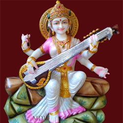 Goddess Maa Saraswati Statue Study Devi Handicraft Decorative Spiritual Puja Vastu Showpiece Figurine idol <br>lead time 2 working days