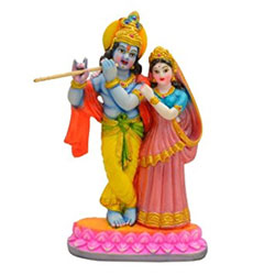 Radha Krishna Showpiece For Home Décor Anniversary Wedding Gifting  Symbol Of Love <br>lead time 2 working days