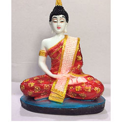 Buddha Idol (7 Inch X 4.5 Inch,)