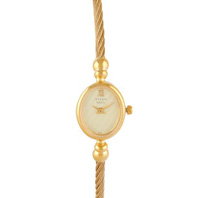 Titan Champagne Dial Analog Watch For Women-NE197YM01