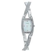 Titan Purple Silver Dial Analog Watch for Women-NF9851SM01