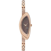 Titan Brown Dial Analog Watch For Women-NE9934WM01J