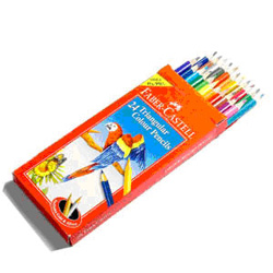 A Set of 24 colour pencils from the renowned International group - Faber Castell. Your dear ones in India will definitely enjoy drawing as well as coloring pictures with these color pencils.<br> delivery time 2 - 3 working days.