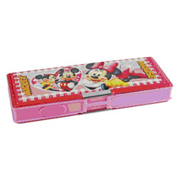 The Mickey n Minnie Box is one of the charming gifts for your dear ones. The pencil box consists of the image of the very loving couple, Mickey and Minnie and opens on both the sides.