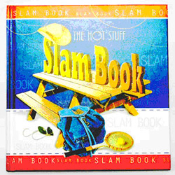 This is a beautiful slambook that you can gift to your little brothers / sisters through which they can get the views of their friends and cousins. Slam books are a great way for friends to share their thoughts. Send this slam book to your loved one in. Your can also send other Gifts to India with this slam book.   Size - 15 cm x 15 cm  Pages - 64