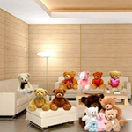 Send a Room Full of Teddies. Includes 8-10 Teddies of various sizes (6, 10, 12, 15 and 24 inches respectively)