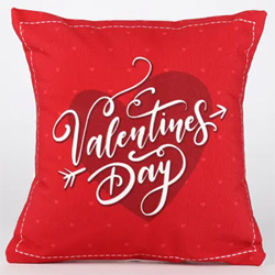 Valentines Day Heart Cushion
