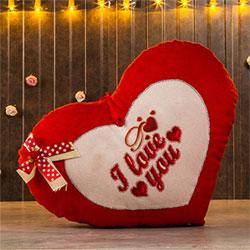 I Love You Heart Shaped Soft Toy