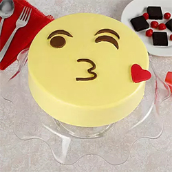 1kg Round butter scotch cake