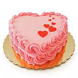 Floating Hearts Cake 1kg