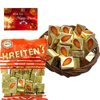 Kreiten's Almond Chocolates from Hong Kong. Weight - 300 gms.2 packets basket not included