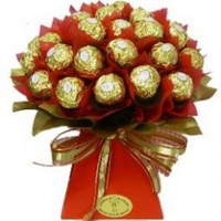 24 pcs chocolate bouquet will surprise anyone!